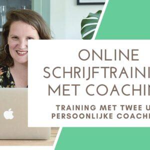 online schrijfcoach